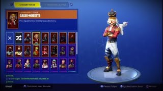 HOW to DO THE CASSE NOISETTE SKIN MORE RARE FORTNITE FREE?