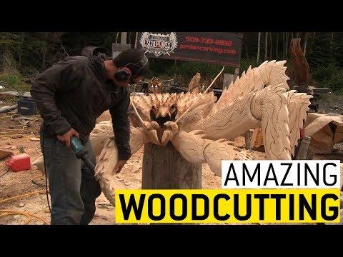 Amazing Woodworking || JukinVideo