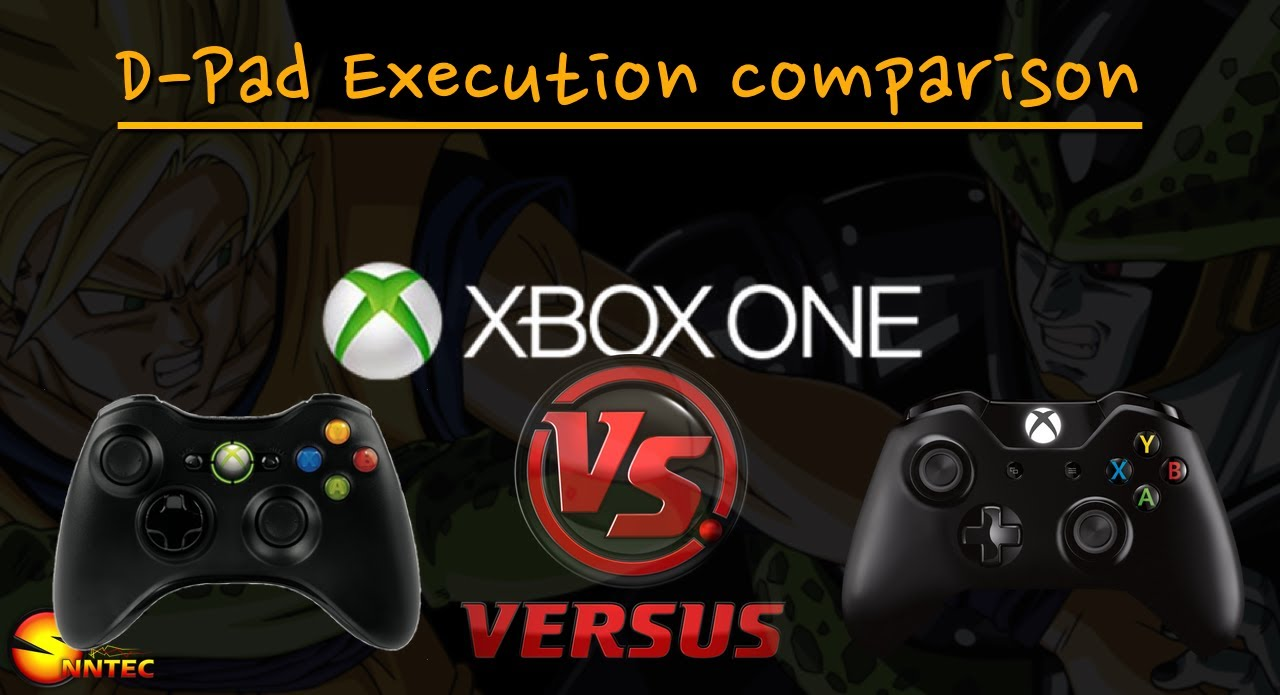 Xbox one vs 360 controller D-pad execution comparison | By ... Xbox One Vs Xbox 360 Controller