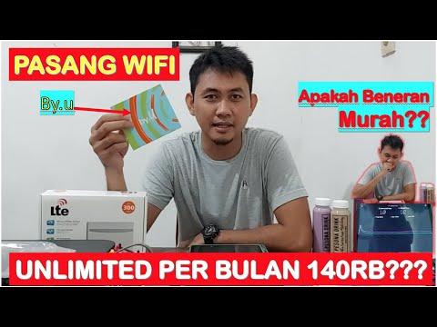Cara Pasang Wifi Di Rumah Dengan Kartu By U  Unlimited