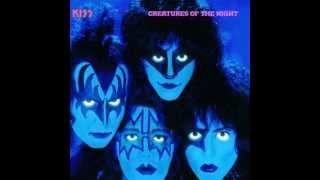 KISS - Danger - Creatures Of The Night Album 1983