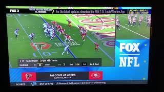 NFL on FOX Today Game Break Update: Falcons @ 49ers on FOX (2)