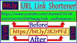 How to URL link shortener in Mobile Phone Bangla Tutorial