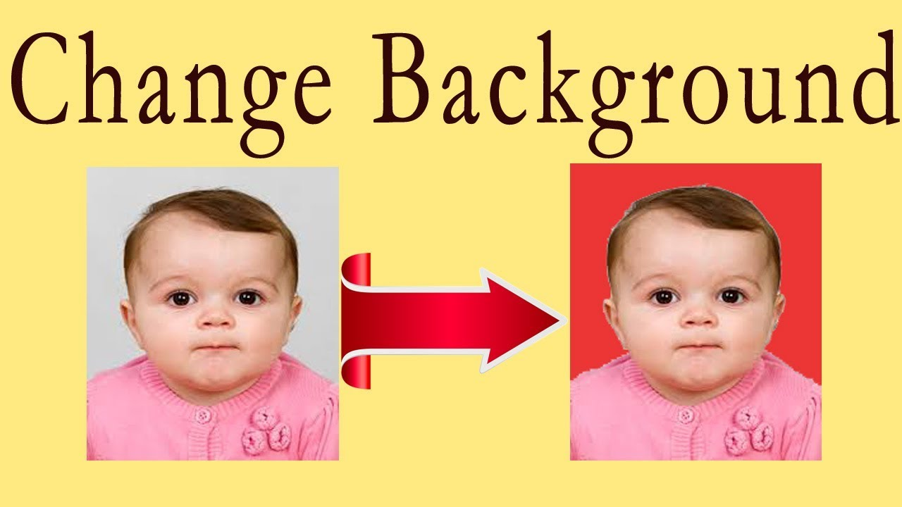 Color change online - How To Change Background Color Of Passport Size Photo In Seconds Youtube