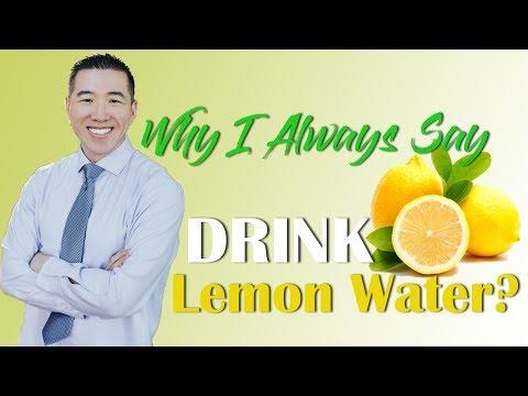 Why I ALWAYS Say DRINK Lemon Water