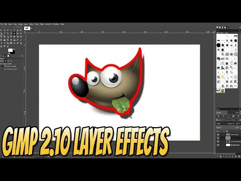 How To Add New Layer Effects To GIMP 2.10 Beginners Guide Part 3 | Getting Started With GIMP 2.10