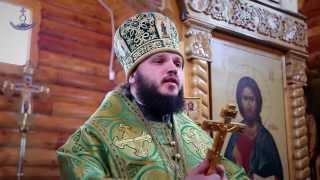 Престольный праздник в храме прп. Серафима Саровского пос. Парин