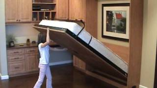 Easy to open &close Murphy Wall bed Thumbnail
