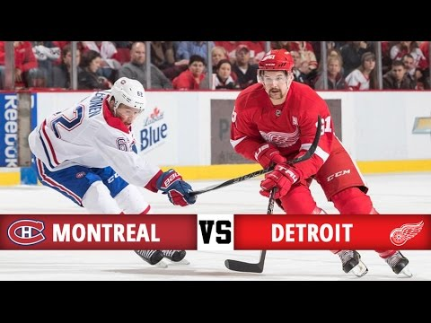 Montreal Canadiens vs Detroit Red Wings   Season Game 22   Highlights (26/11/16)