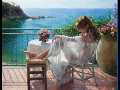 * Нежные женские образы в картинах художника Висенте Ромеро Редондо (Visente Romero Redondo)