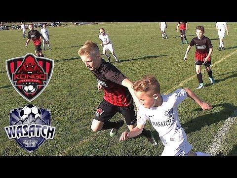 FC Kongo RJ vs Wasatch JS - U12 D1 Soccer