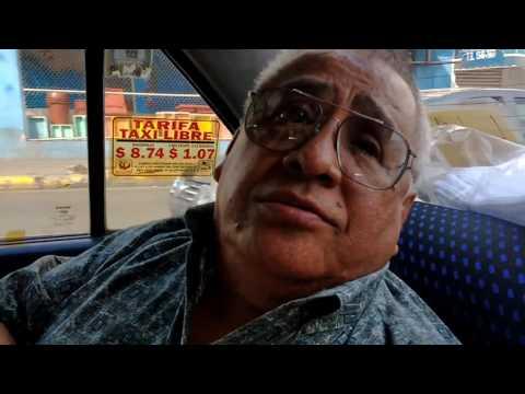 En el Taxi con :  Baby Richard