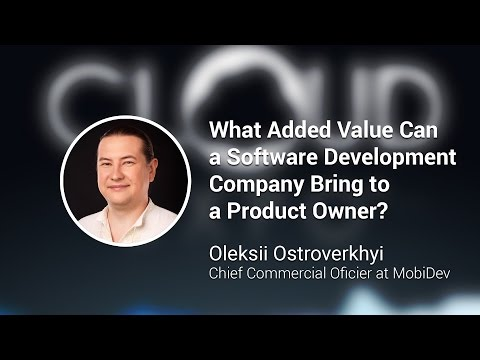 Cloud Expo 2016 NY. What Added Value Can a Software Development Company Bring to a Product Owner?