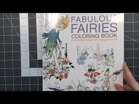 fabulous fairies coloring book by margaret tarrant - Fairies Coloring Book