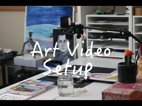 My Art Filming Setup