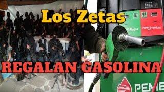Zetas Cierran Gasolineras y Regalan Combustible / Comparte!!!
