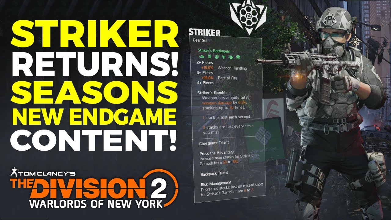 The Division Striker
