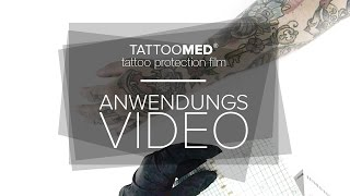 TattooMed Tattoopflege: DER PROTECTION FILM | TattooMed