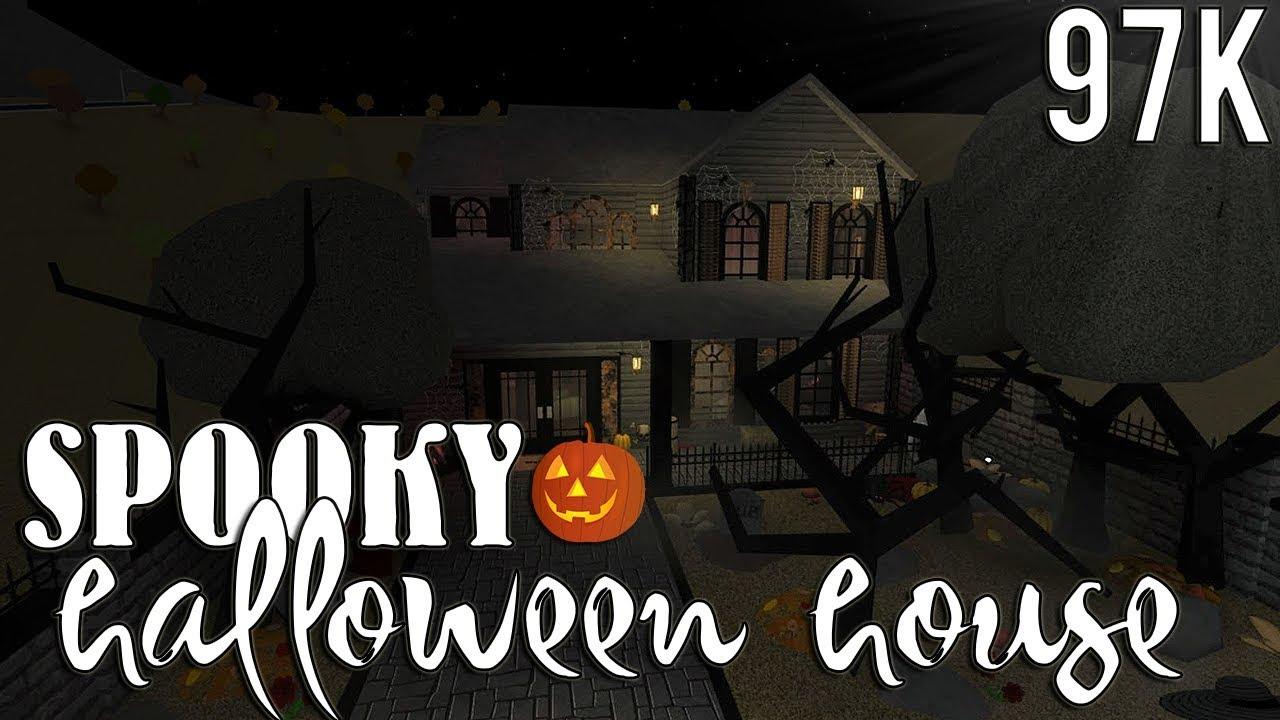 Bloxburg Halloween Cemetery 2020 10k ROBLOX | Bloxburg: Spooky Halloween House (warning: kinda actually