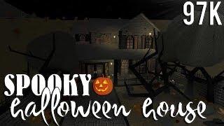 ROBLOX   Bloxburg: Spooky Halloween House (warning: kinda actually spooky) 97k