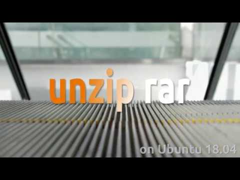 How To Unzip Rar File On Ubuntu 18.04