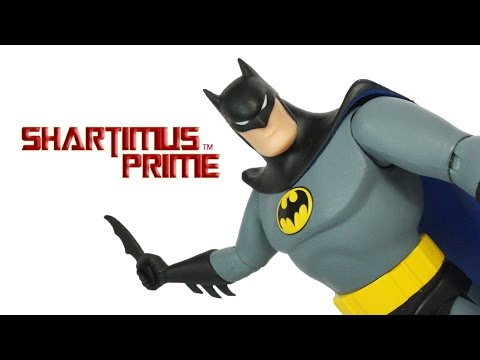 DC Collectibles Batman The Animated Batman Series 6 Inch Cartoon DC Comics Action Figure Review