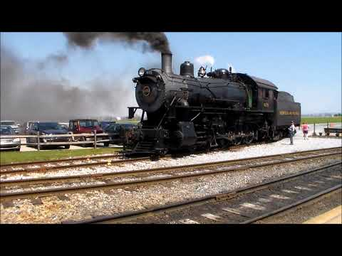 Action on the Strasburg Railroad Part 4-Sunny Day