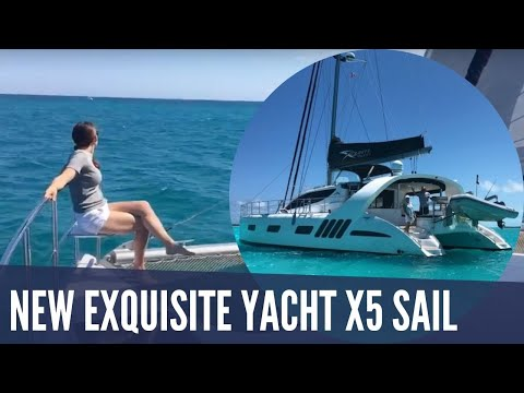 Test Sailing The New Exquisite Yacht X5 Sail
