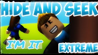 ROBLOX HIDE AND SEEK | I'M IT | YOUR IT |