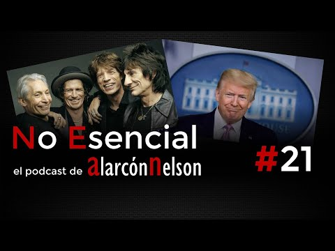 🎤 Podcast NO ESENCIAL #21 - The Rolling Stones demandaría a Donald Trump