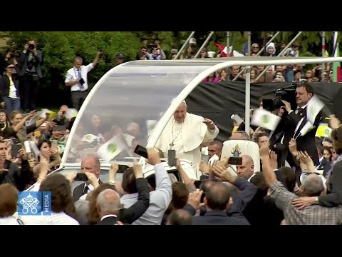 Best images of Pope Francis in Bulgaria and North Macedonia
