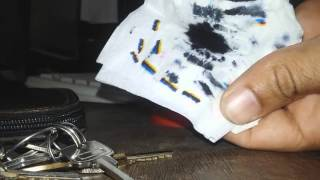 como desentupir qualquer cartucho de tinta  em casa (how to unclog any home on ink cartridge )