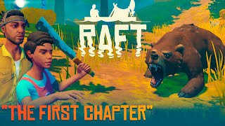 RAFT - The First Chapter #01 - ZACZYNAMY! | Vertez