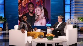 Chadwick Boseman Plays 'Does Chadwick Boseman Knows Them?'