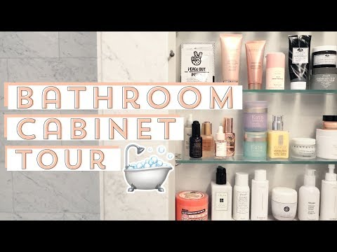 What's In My Bathroom Cabinet