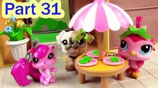 LPS Salad Breakfast - Mommies Part 31 Littlest Pet Shop Series Movie LPS Mom Babies