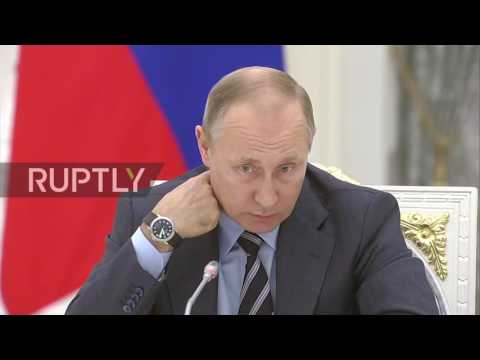 Russia: Putin backs Vyacheslav Volodin for State Duma chairman