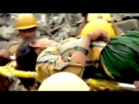 Chennai building collapse: Woman rescued after 39 hours