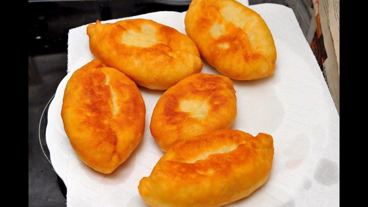 Пироги жареные на сковороде