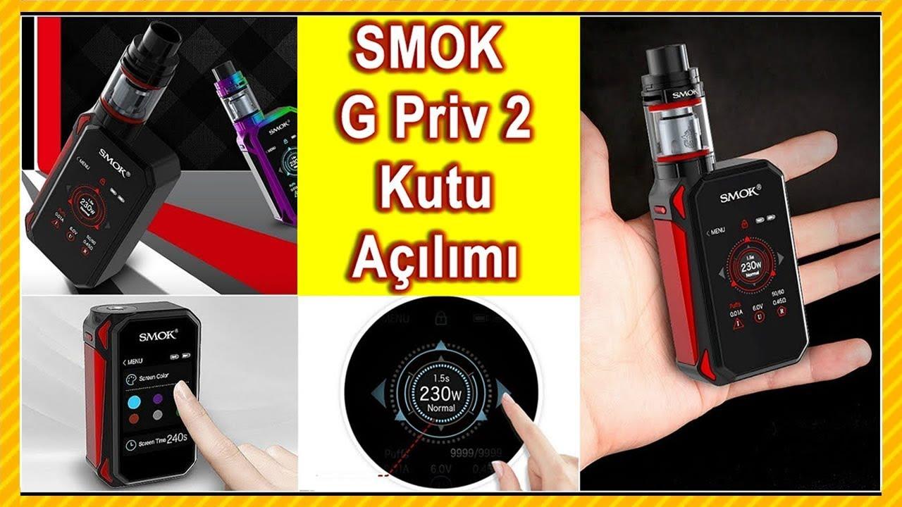 smok g-priv 2 luxe edition 230w elektronik sigara