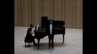 """04. Tenor 최승태 """"Danksagung an den Bach"""" F.Schubert """"Die schöne Müllerin"""""""