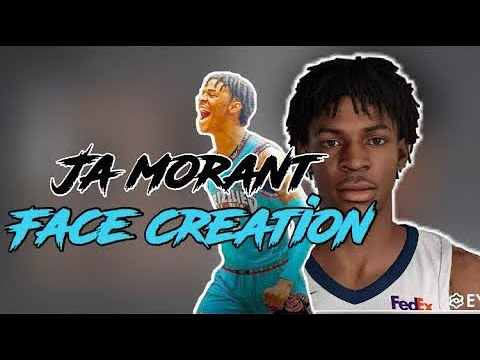 *NEW* JA MORANT FACE CREATION ON NBA 2K20 | INCREASES ALL DRIP | SECRET FACESCAN GLITCH