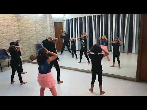 Kids Dance Practice at Activity Hub on KHALIBALI - SHIVAM PATHAK,SHAIL HADA