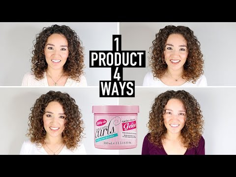 4 Curly Hair Styling Techniques Using 1 Product  - Dippity Do Gel