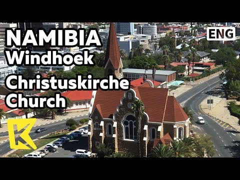 【K】Namibia Travel-Windhoek[나미비아 여행-빈트후크]크리스투스쿼시 교회/Christuskirche Church/Herero/German