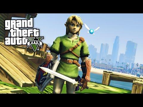 LEGEND OF ZELDA!! (GTA 5 Mods Gameplay)