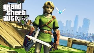 LEGEND OF ZELDA!! (GTA 5 Mods Gameplay)