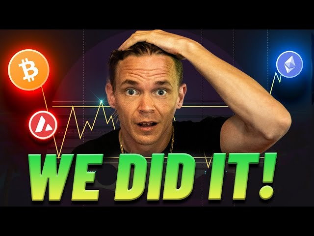 Bitcoin Breakout?! Wyckoff Re-accumulations + Stock Market Overview LIVE!