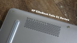 HP EliteBook Folio G1 review