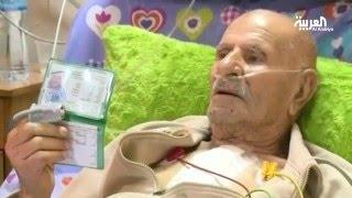 في عمر 99 اجرى عملية قلب مفتوح